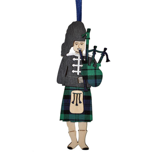 Black Watch 3-D Piper Ornament