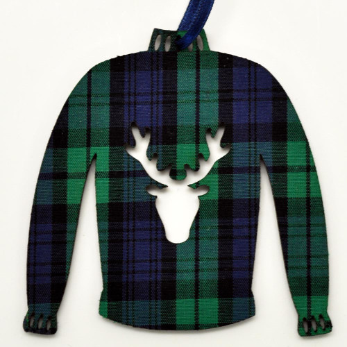 Black Watch Sweater Ornament