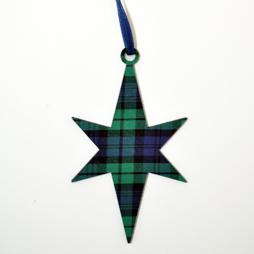 Black Watch Star Ornament