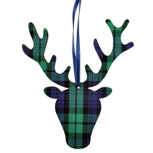 Black Watch Stag head Ornament
