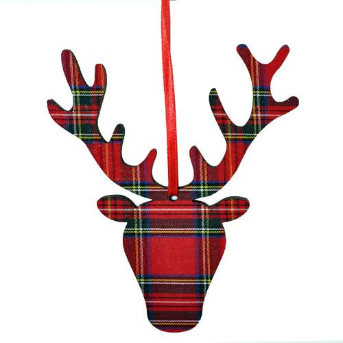 Royal Stewart Stag head Ornament