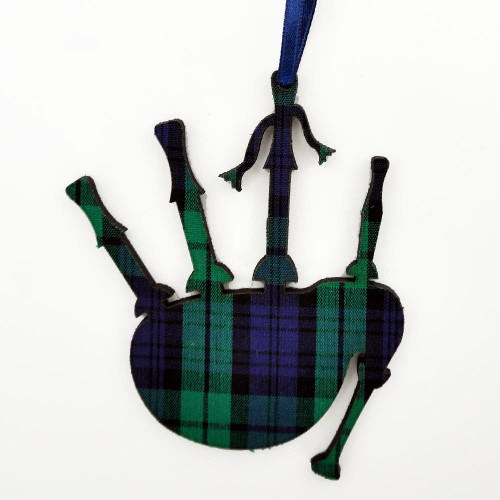 Black Watch Bagpipes Ornament