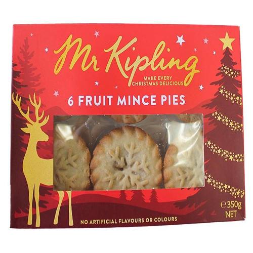 Mr Kipling Mince Pies 6pk