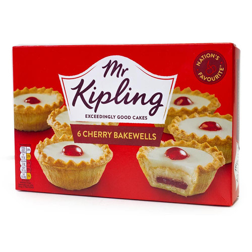 Mr Kipling | 6 Cherry Bakewells