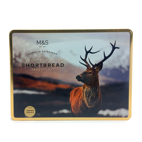 M&S All Butter Scottish Shortbread Stag Tin