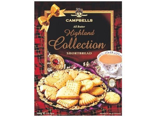 Campbells | Highland Collection Shortbread
