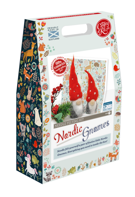 Nordic Gnomes Needle Felting Kit