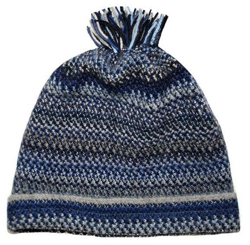 Lochcarron | Zig Zag Knitted Wool Hat
