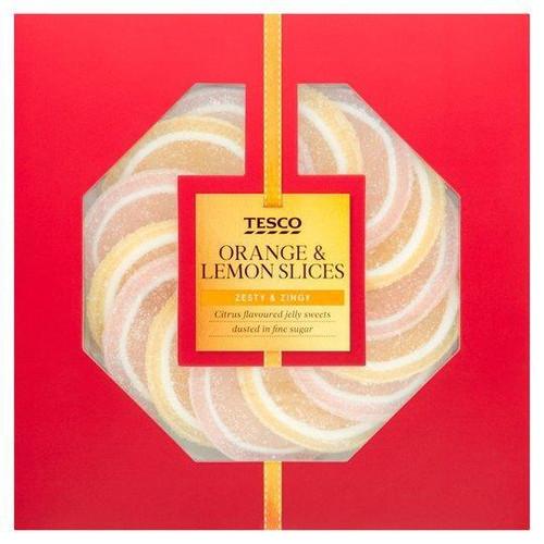 Tesco | Orange & Lemon Jelly Sweets 120g