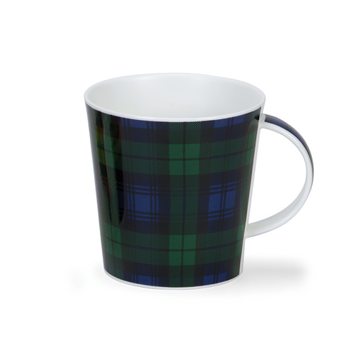 Dunoon Cairngorm Black Watch Tartan Mug