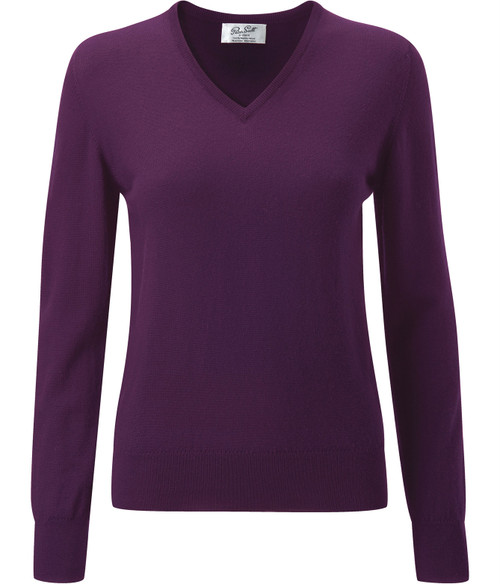 Peter Scott Traquair V Neck Pullover