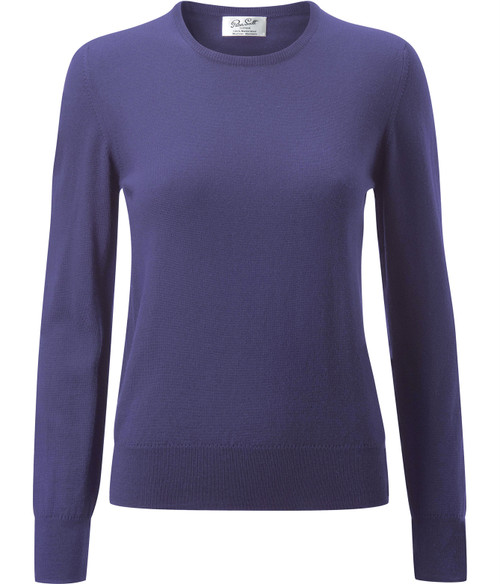 Peter Scott Round Neck Merino Sweater