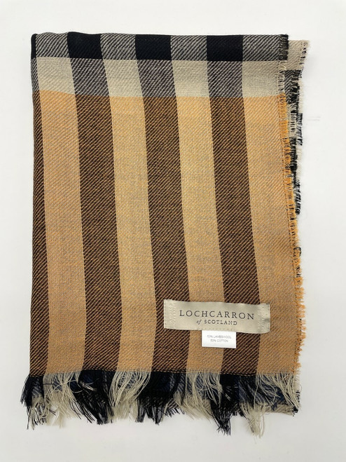 Lambswool & Cotton Scarves