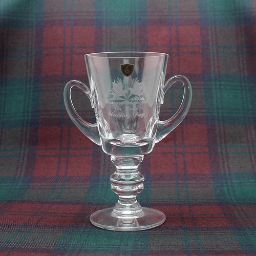 Burns Crystal Wedding Cup