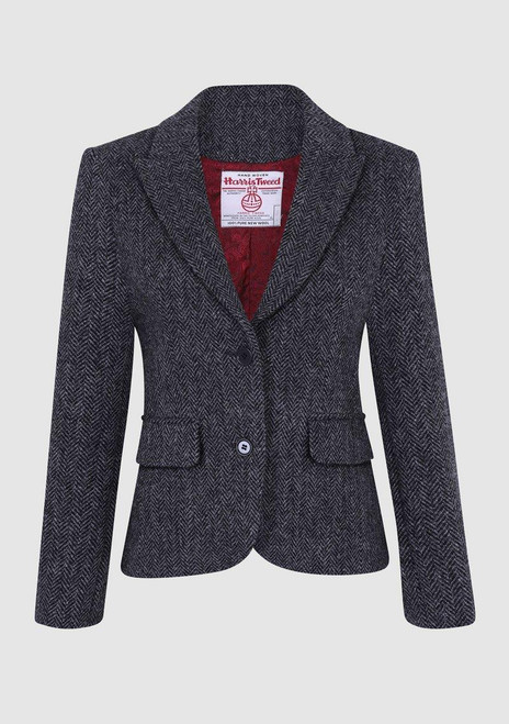 Bucktrout Tammy Harris Tweed Cropped Jacket
