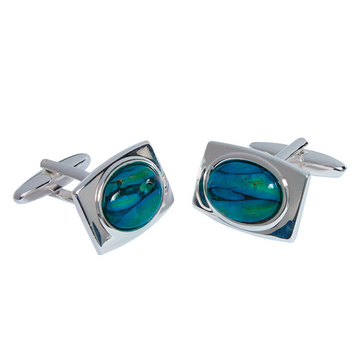 Heathergems Rectangular Cufflinks