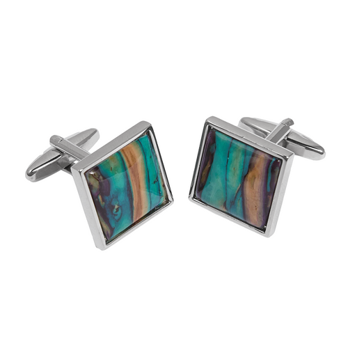 Heathergems Square Cufflinks