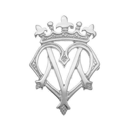 Ortak Luckenbooth Silver Brooch