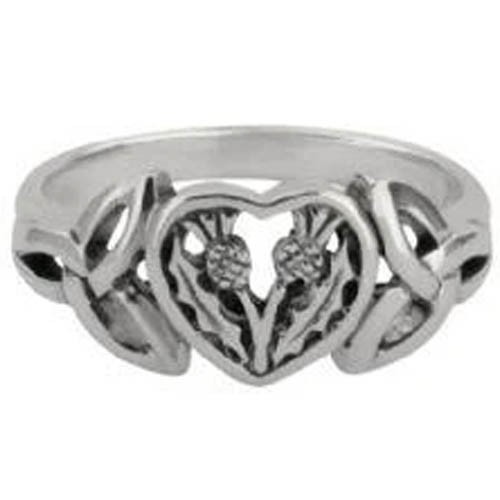Hamilton & Young Thistle Heart Ring