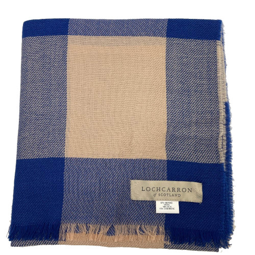 Allie Sping Scarf Inverewe Blue