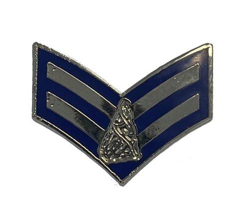 Pipe Corporal ( blue & silver )