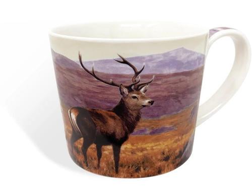 Highland Stag China Mug