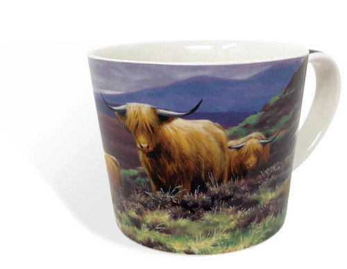 Highland Cattle China Mug