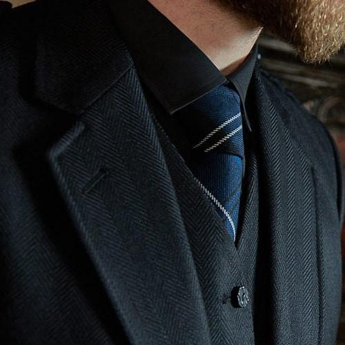 Clunie Jacket – Black Herringbone