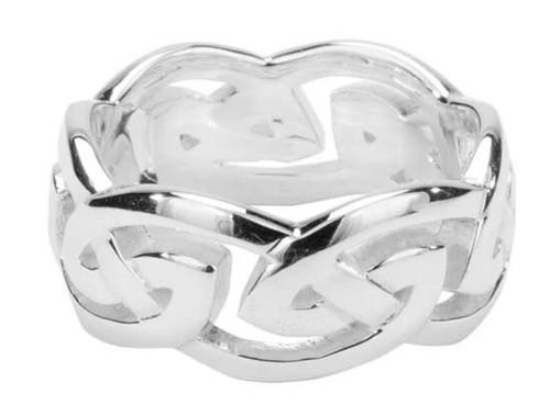 Keith Jack Gowan Silver Eternity Ring