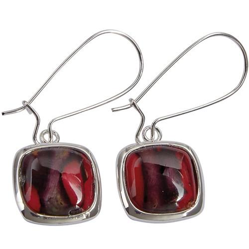 Heathergems Square Drop Earrings