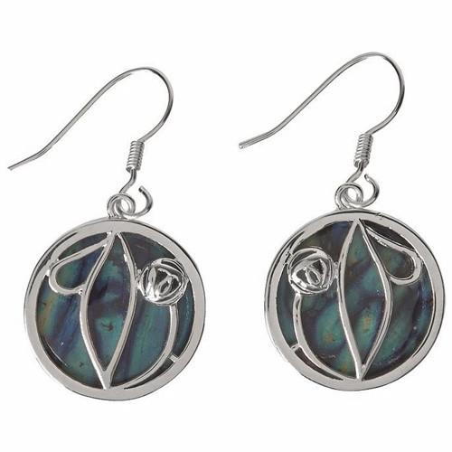 Heathergems Mackintosh Inspired Drop Earrings