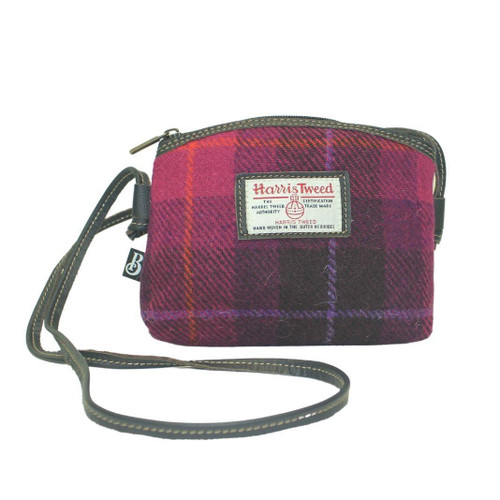 Bucktrout Harris Tweed Jura Cross-Body Handbag