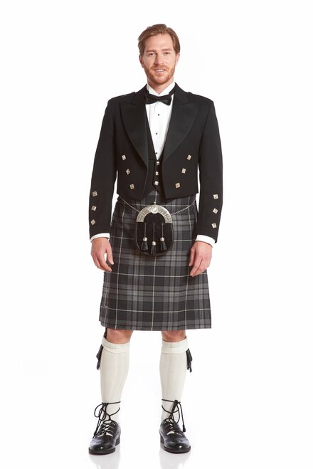 Hebridean Granite Rental Kilt  $60.00