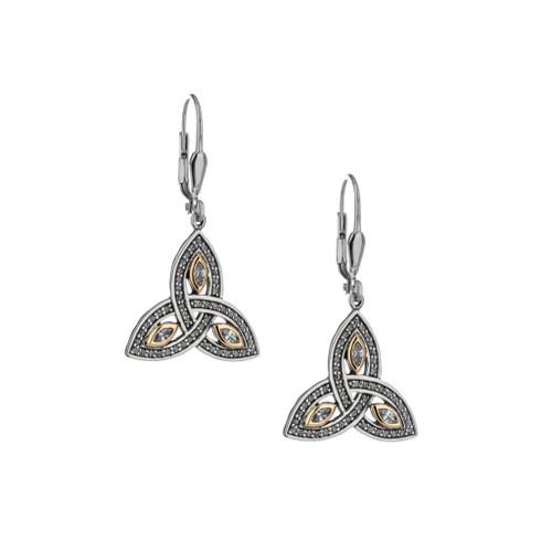 Keith Jack Trinity Knot earrings