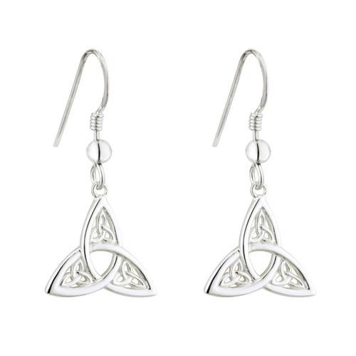Trinity Knot Drop Earrings