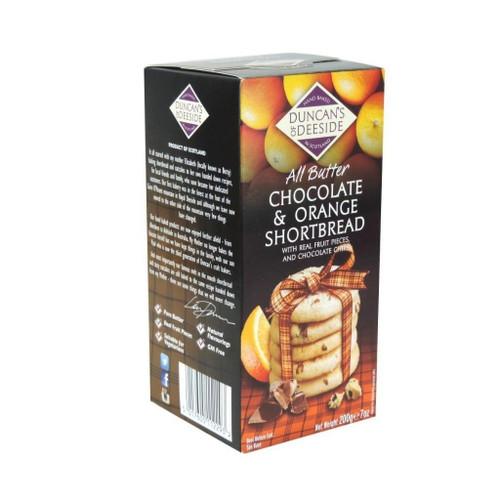 Duncan's of Deeside Chocolate & Orange Scottish Shortbread