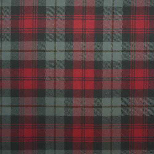 MACLACHLAN WEATHERED LIGHT WEIGHT TARTAN FABRIC