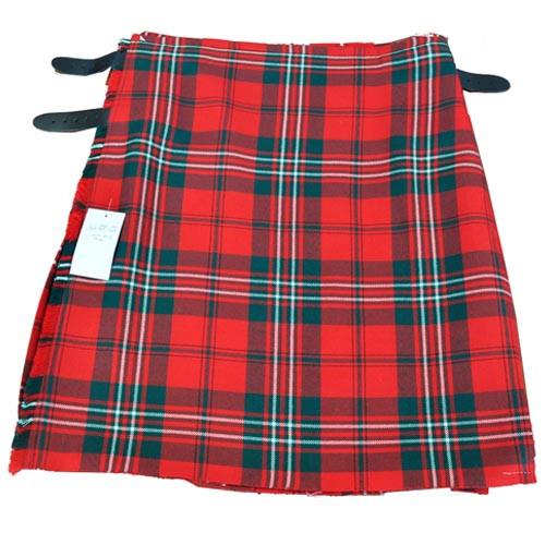 Modern Red Scott Premium Casual Kilt