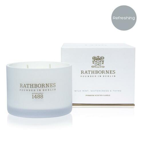 Rathbornes  Mint & Thyme Classic Candle