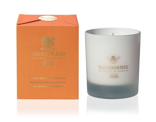 Rathbornes Botanical Sweet Orange Blooms Candle