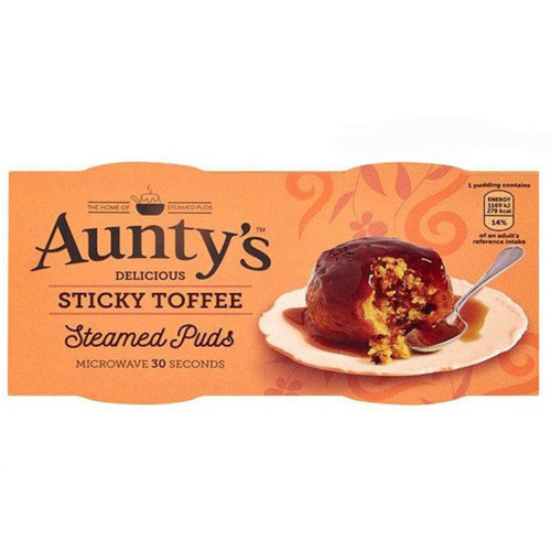 Aunty's Sticky Toffee Steamed Puds 2 Pk