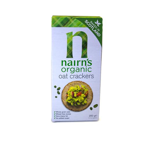 Nairn's | Organic Oat Crackers 250g