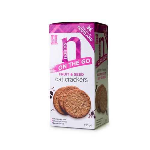 Nairn's | Fruit & Seed Oat Crackers 225g
