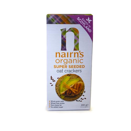 Nairn's | Organic Super Seeded Oat Crackers 200g