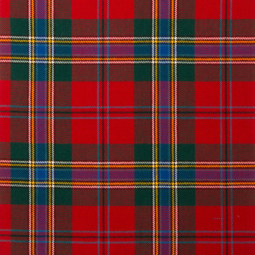 MACLEAN OF DUART MODERN LIGHT WEIGHT TARTAN FABRIC