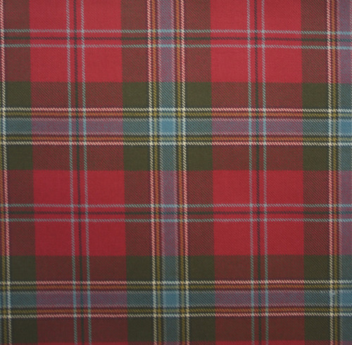 MACLEAN OF DUART WEATHERED LIGHT WEIGHT TARTAN FABRIC