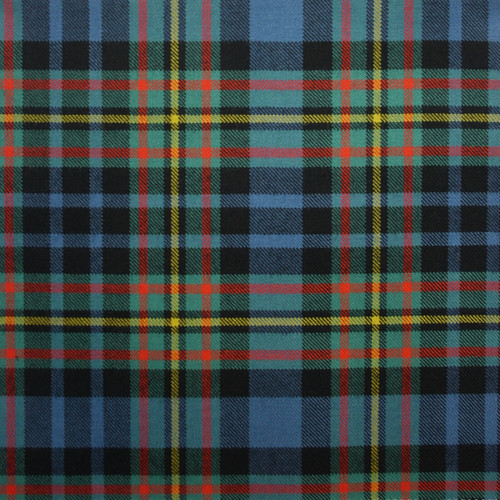 MACLELLAN ANCIENT LIGHT WEIGHT TARTAN FABRIC