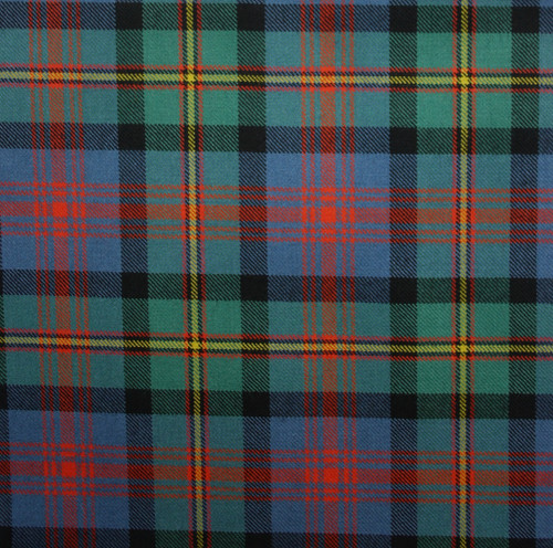 MACLENNAN ANCIENT LIGHT WEIGHT TARTAN FABRIC