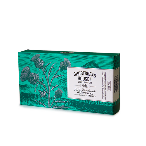 Shortbread with Warming Stem Ginger 170g