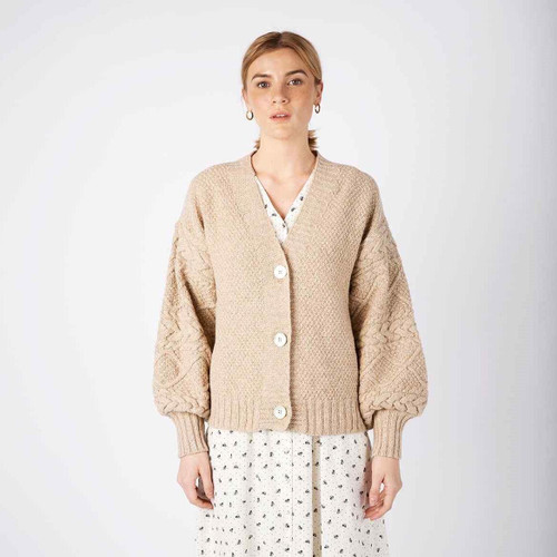 Thistle Cable Knit Cardigan